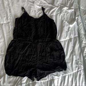 Black Romper From Old Navy